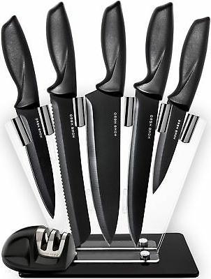 Chef Knife Set Knives Set - Kitchen Knives Knife Set with St