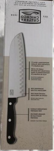 Chicago Cutlery Essentials Stainless Steel Block