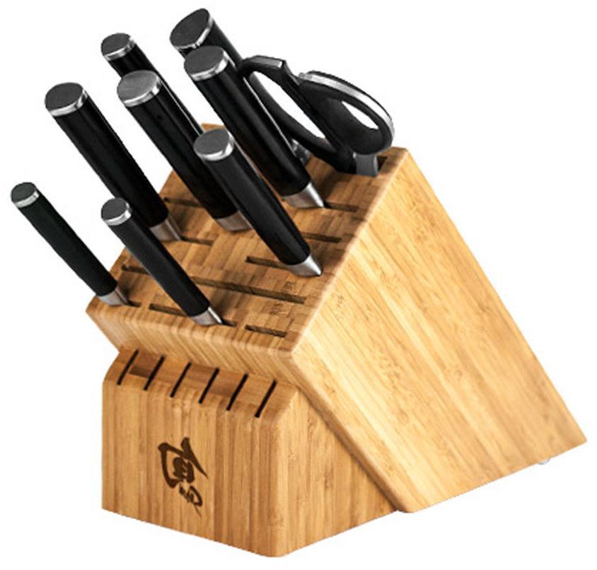 classic 10 piece chef s block knife