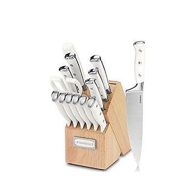 Cuisinart Knife Set - - Pine Wood, Stainless Steel