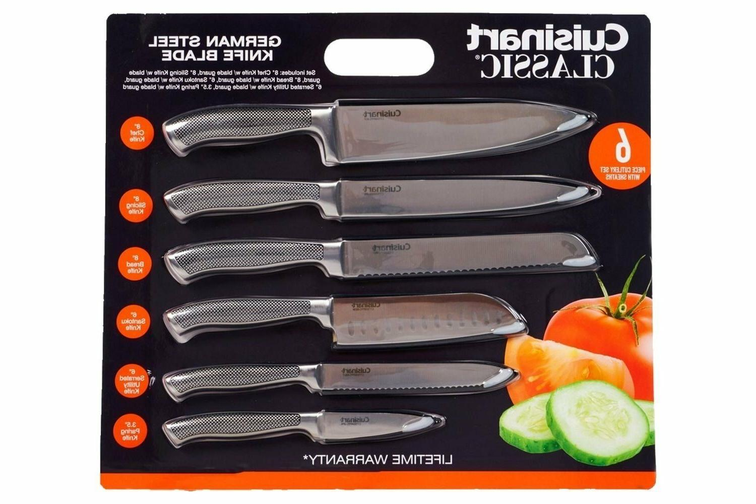 classic german steel knife set