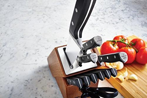 Calphalon Classic Self-Sharpening Cutlery Set Technology