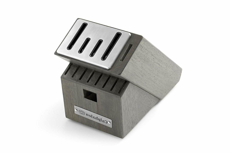 Calphalon Classic Steel Block - 15 Piece