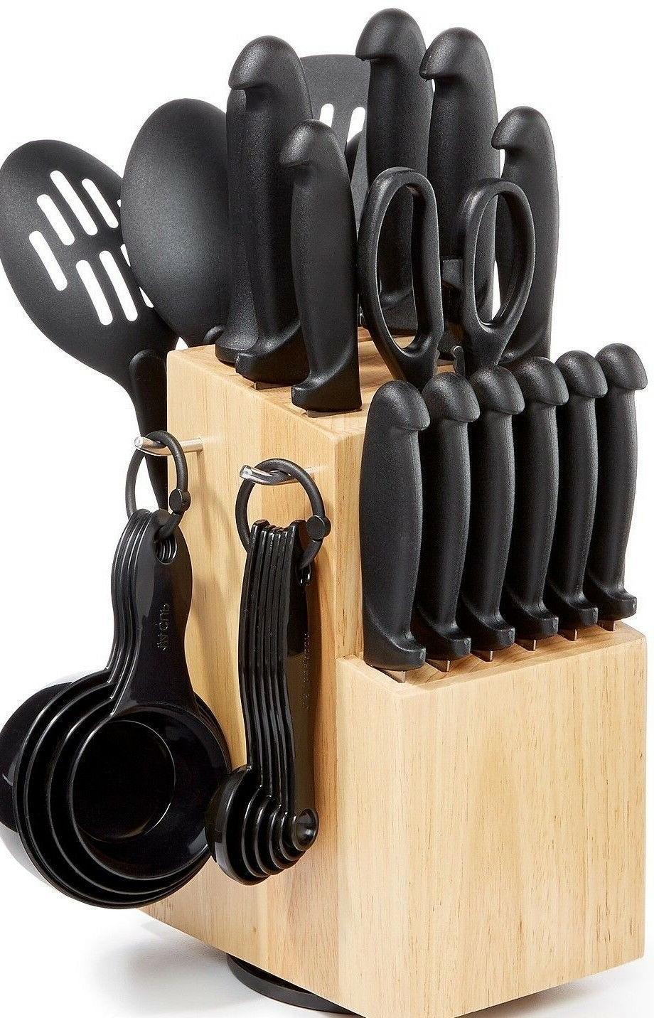 Martha Stewart Essentials  30-Piece Cutlery Set,