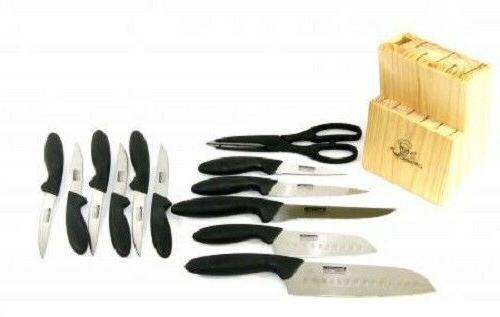 MasterChef 13pc 2-Santoku Knife & Steak