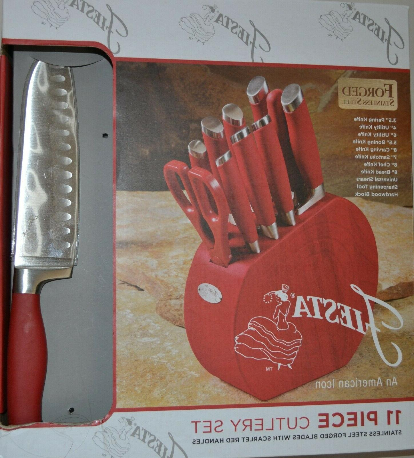 FIESTA FORGED STEEL 11 CUTLERY WITH
