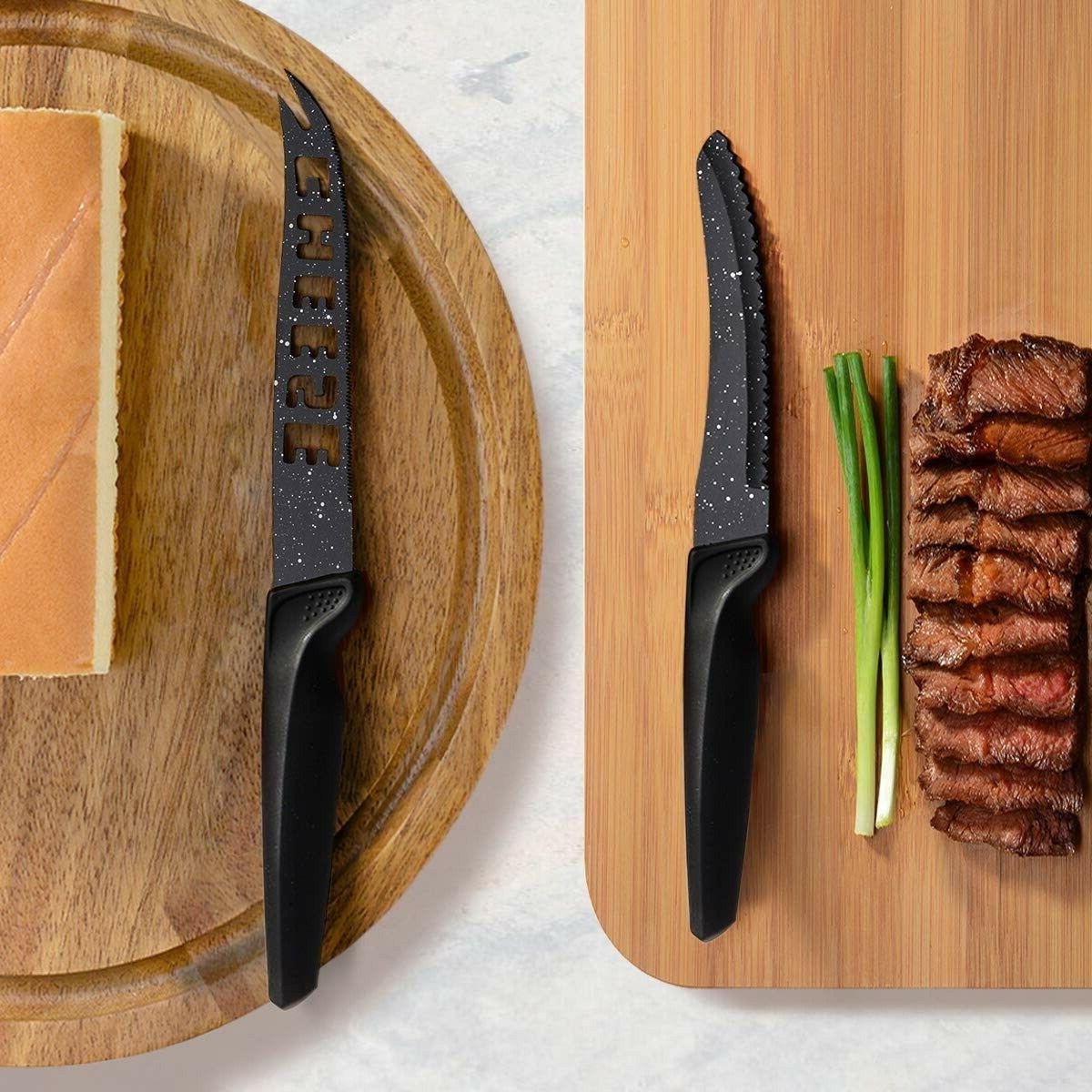HOBO Knife Stainless Steel Chef Knife Set with Acrylic Block Profe