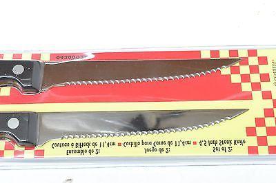 """NEW HOME STEAK KNIFE 6 STAINLESS LENGTH BLADE 4.5"""""""