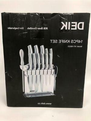 Deik Home Essential Live Comfortable 14 Pcs Knife Set