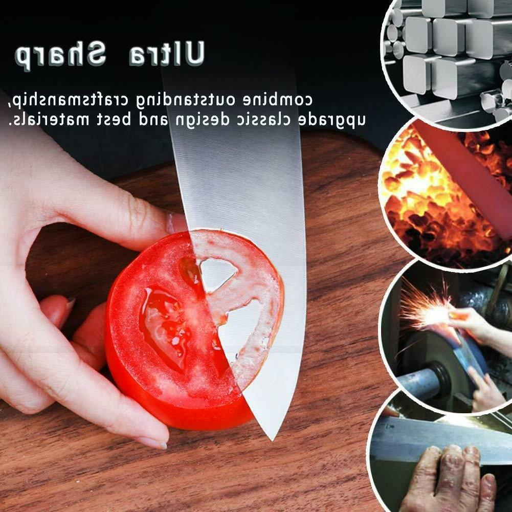 Knife Knife Set Wooden German Stainless