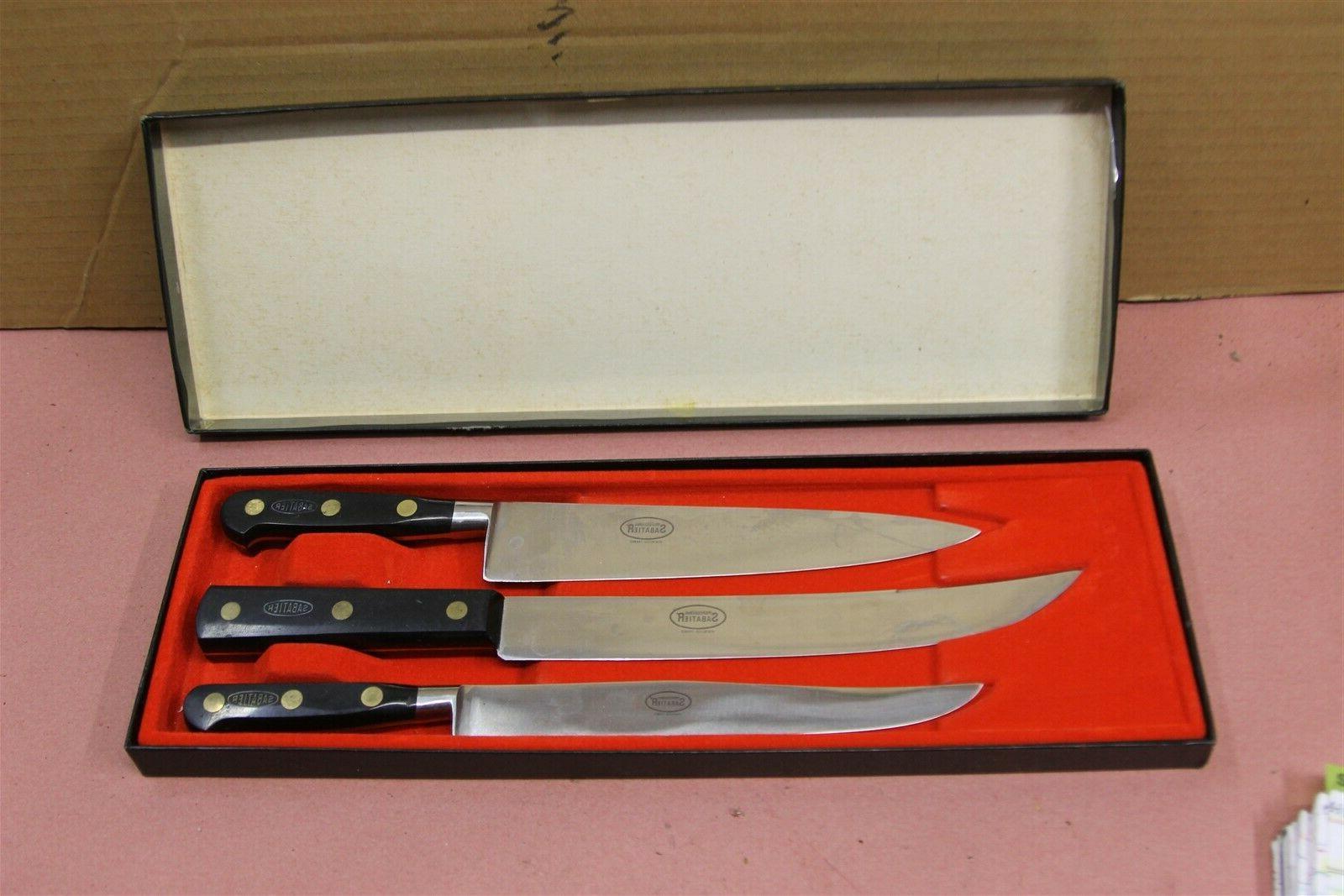 international chef knife set 3 piece set