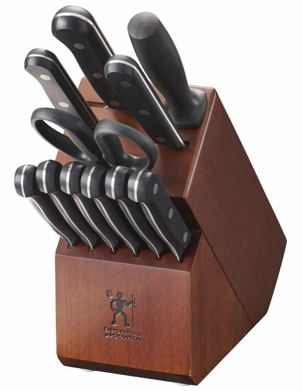 J.A. Henckels International 17550-000 Solution Knife Block S