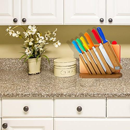 Chicago Cutlery Piece Knife Set: Professional Kitchen Knives, Knife Cutting and Handles
