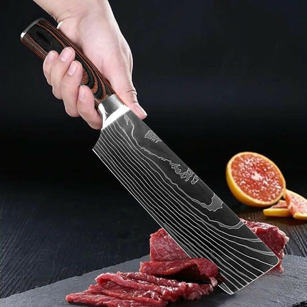 Kitchen Japanese Steel Cutting