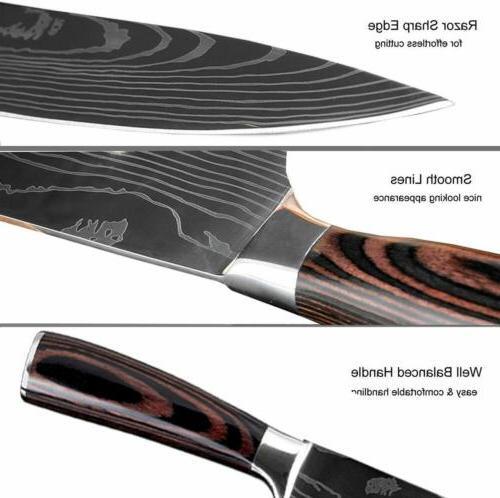 Kitchen Knives Damascus Knife