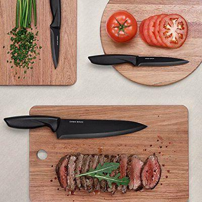 Kitchen Knife Sharp Clear Non Stick Coated