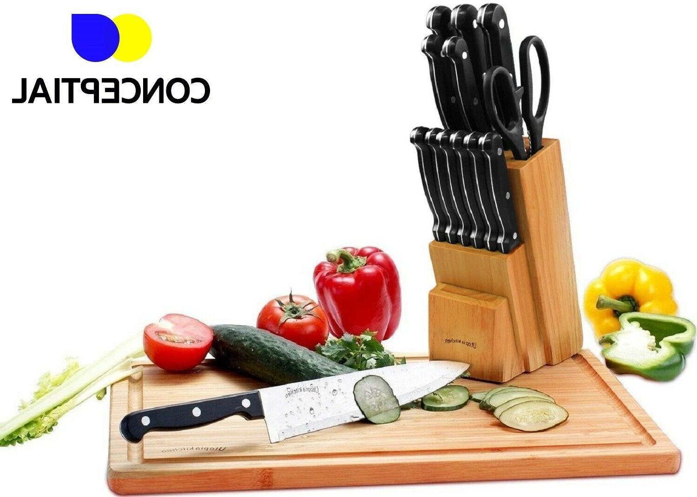 Knife Kitchen Utensils Steel Cutlery Stand Pc