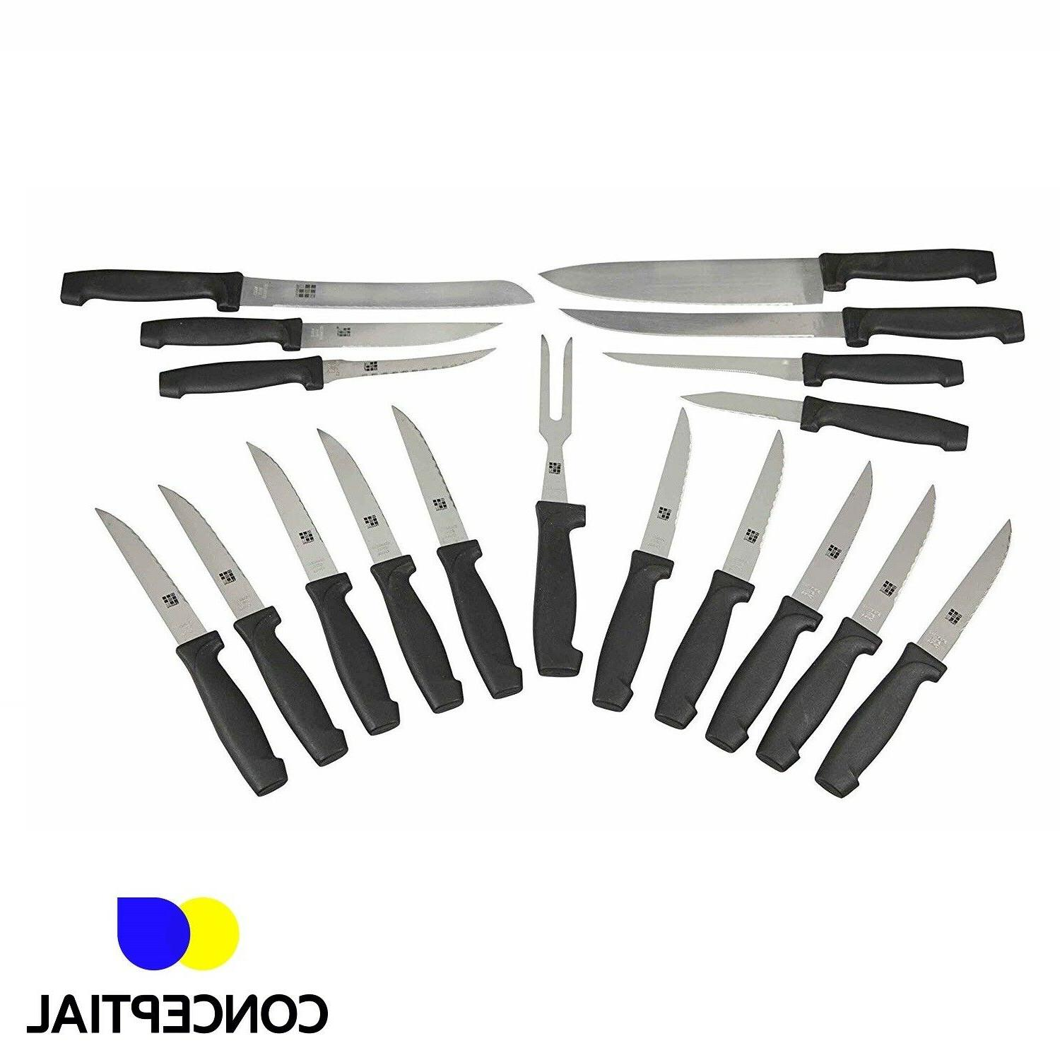 Knife Sharpening Stainless Steak 15 Pc