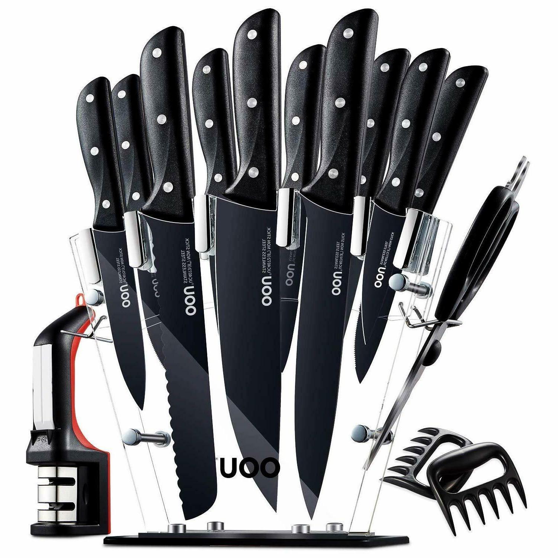 knife set 15 kitchen knives set