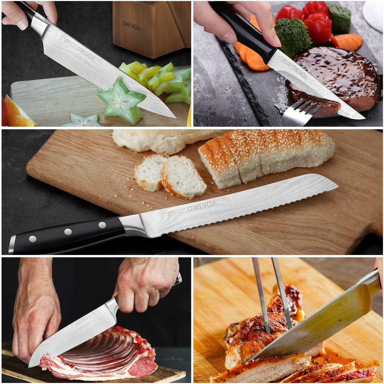 Knife Set, Knife Wooden German