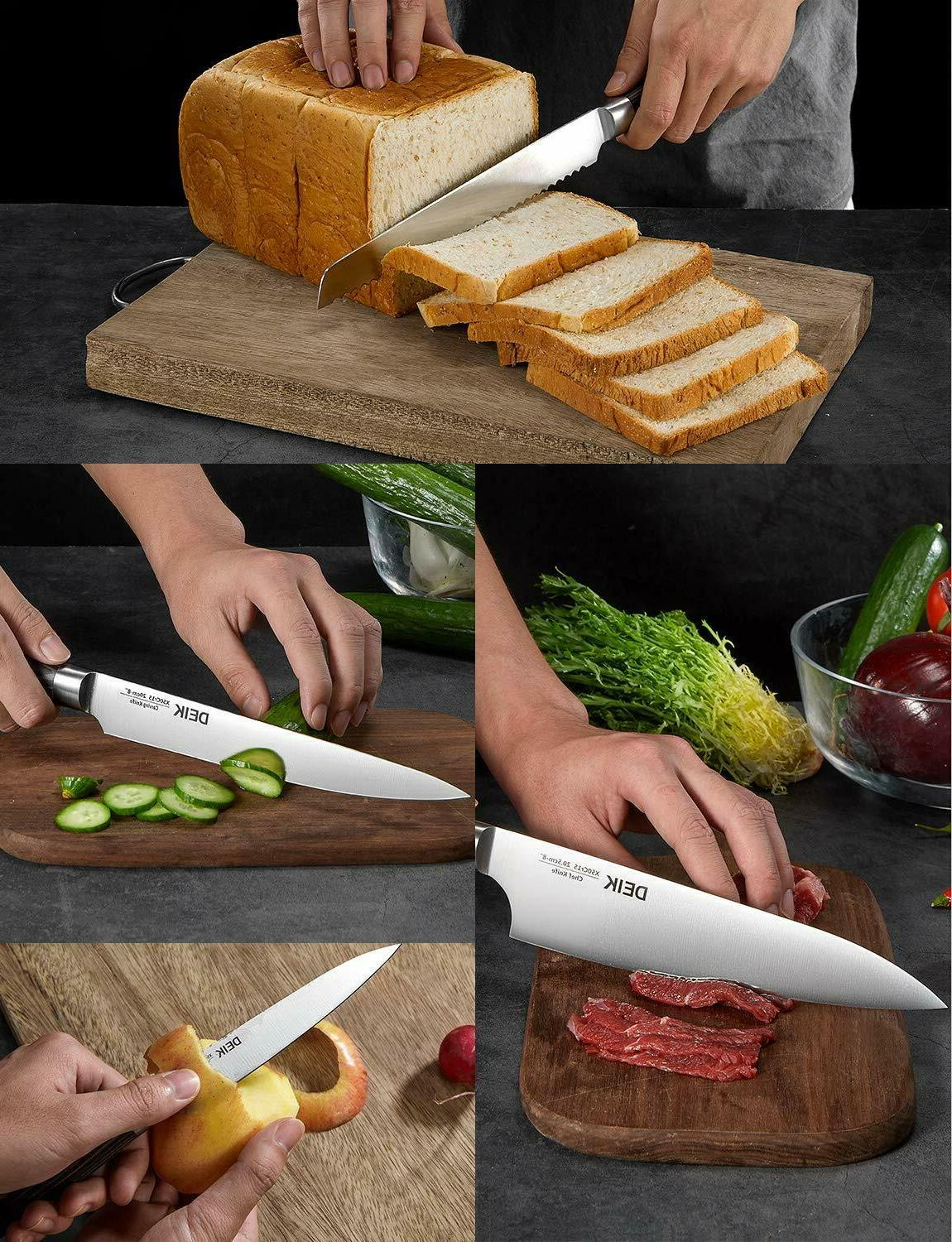 Deik Knife High Stainless with Rotat