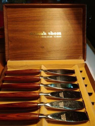 MODE DANISH Knife Set MidCentury Handles