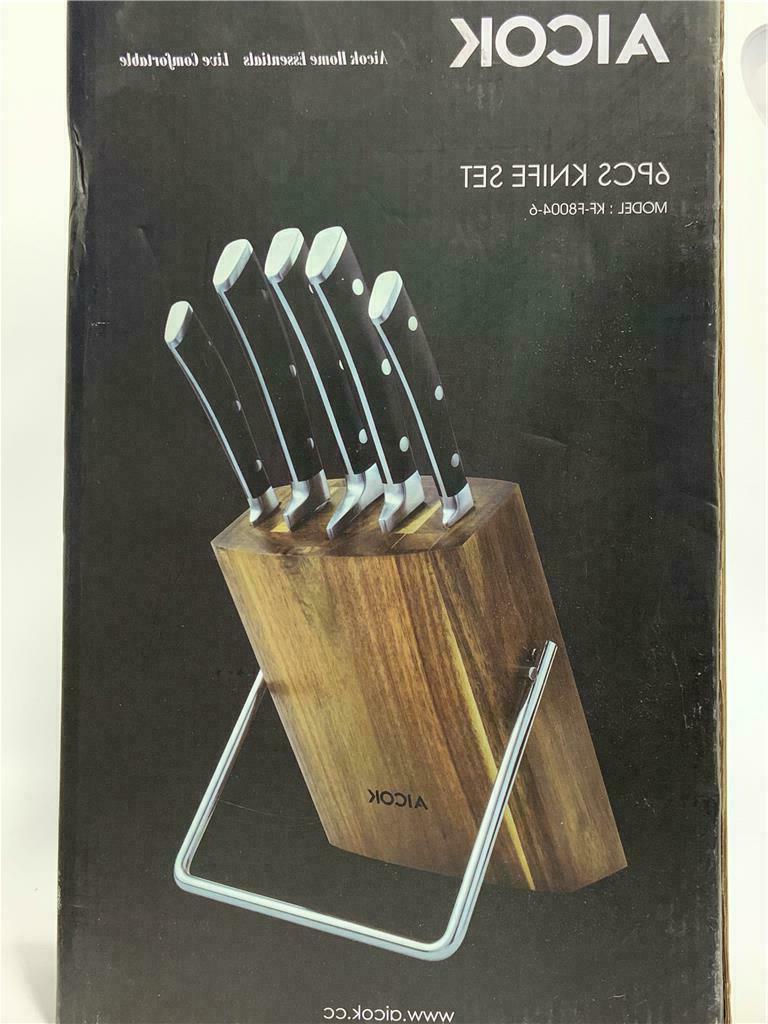 knife set professional 6 piece knife set