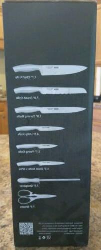 New Deik Knife Knife Block Stainless Steel Knife Set 14