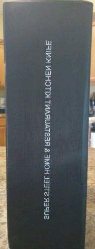 New Knife Block Set, Stainless Steel 14 Piece