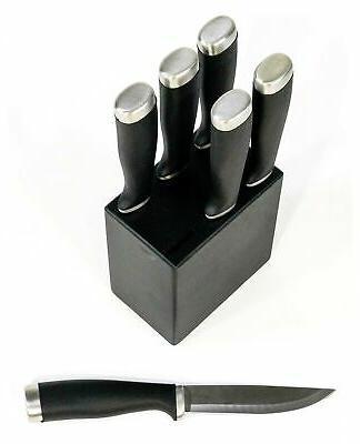 NEW Stainless Steel Steak Knife Knife Block - SHIPPING