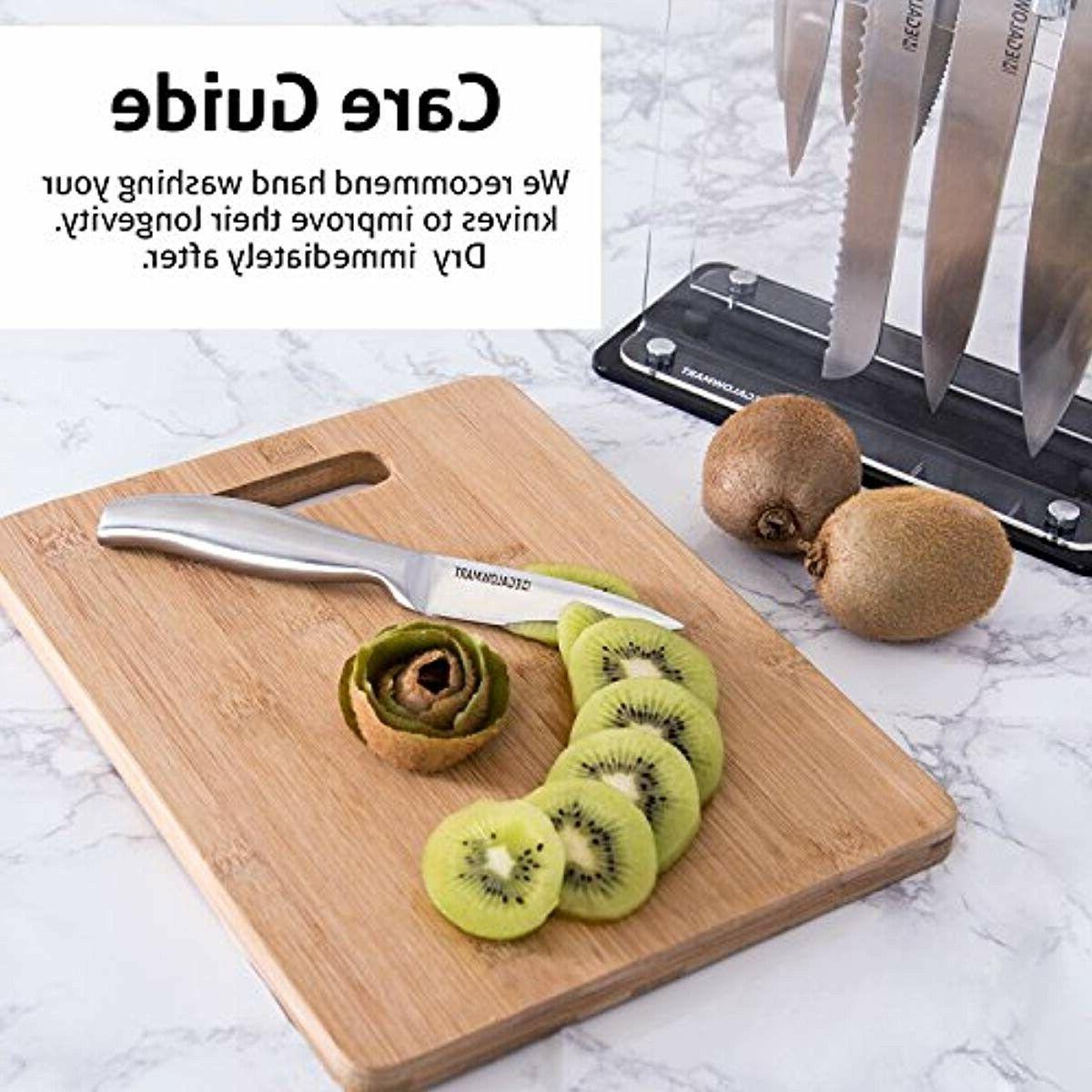 Premium Knife Set 12 Pieces Block w/ Knives