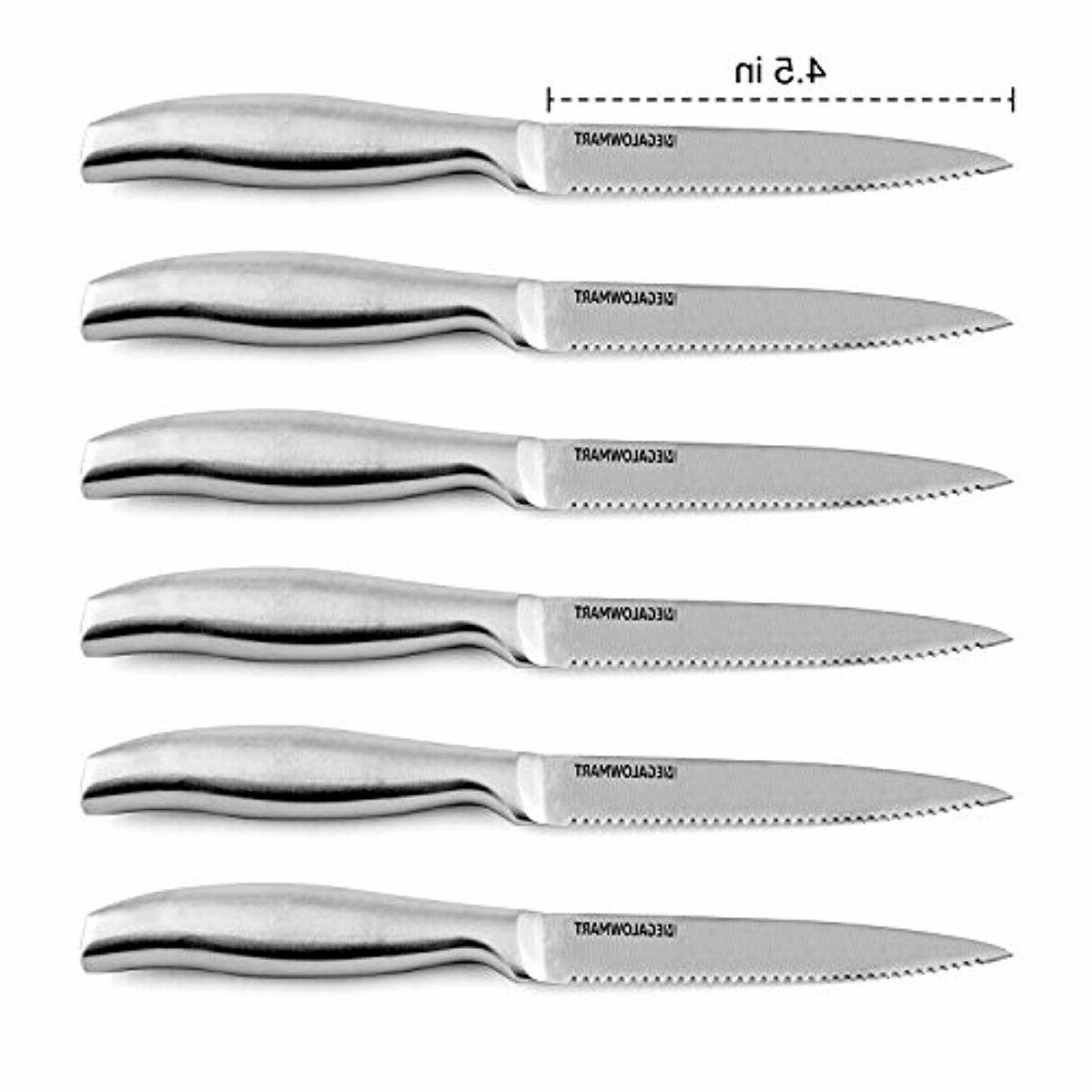 Premium Set 12 Pieces Block Stainless Steel Knives