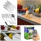 LivingKit PROFESSIONAL Chef Knife Set 14 Pcs Stainless Steel