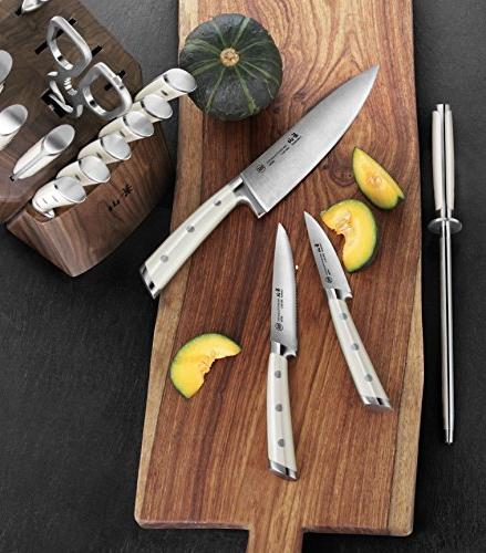 Cangshan German Knife Set, Walnut