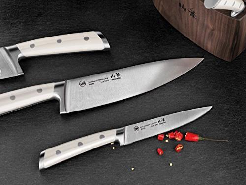 Cangshan S1 Series 1022599 German Steel Knife Block Set,
