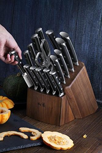 Cangshan Knife Set, Walnut