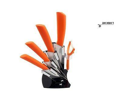 "Ultra White Ceramic Knife 3"" 4"" peeler"