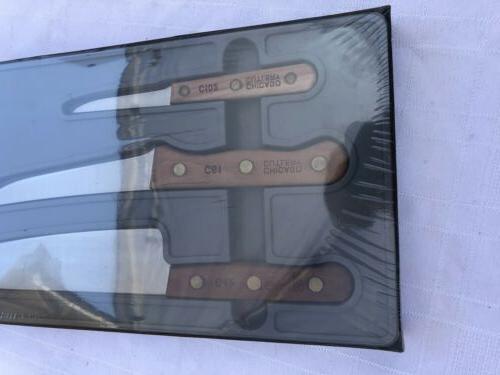 VINTAGE C102,C61,C42 KNIFE OLD C42G 3 Piece