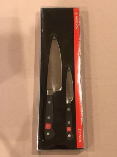 wusthof classic hollow edge 2 piece knife