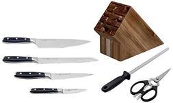 Messermeister L7000-7SAC Avanta 7 Pc. Acacia Knife Block Set