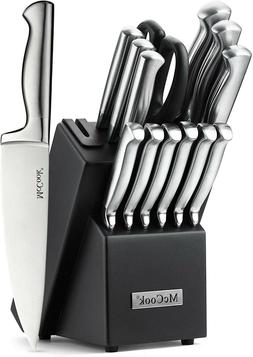 McCook MC21 15 Pieces German Stainless Steel Hollow Handle K