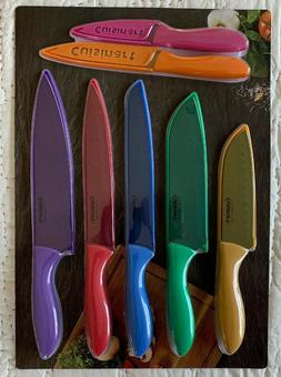 Cuisinart Metallic Multi-Color Stainless Steel 14-Piece Knif