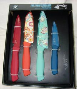 NEW 8 Pc Fiesta Fiestaware Stailnless Steel Multi-Color Knif