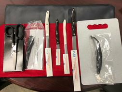 NEW CUTCO KNIFE 6 piece SET WITH Cutting Board