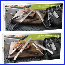 Cangshan S Series 7-piece BBQ Knife Set,  Sharp Asian Style