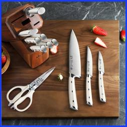 Cangshan S1 Series 12-Piece Knife Set, White