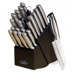 Oster Baldwyn 22 Pc Kitchen Cutlery Knife Knives Set Stainle