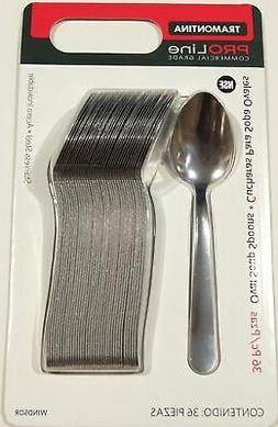 STAINLESS STEEL Lot of 36 RESTAURANT QUALITY WINDSOR OVAL SOUP SPOONS