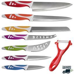 Professional Chef Knife Set Multi-use 8 pcs Gift Box for Hom