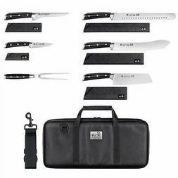 Cangshan S Series 7-piece BBQ Knife Set, Sheaths Included, B